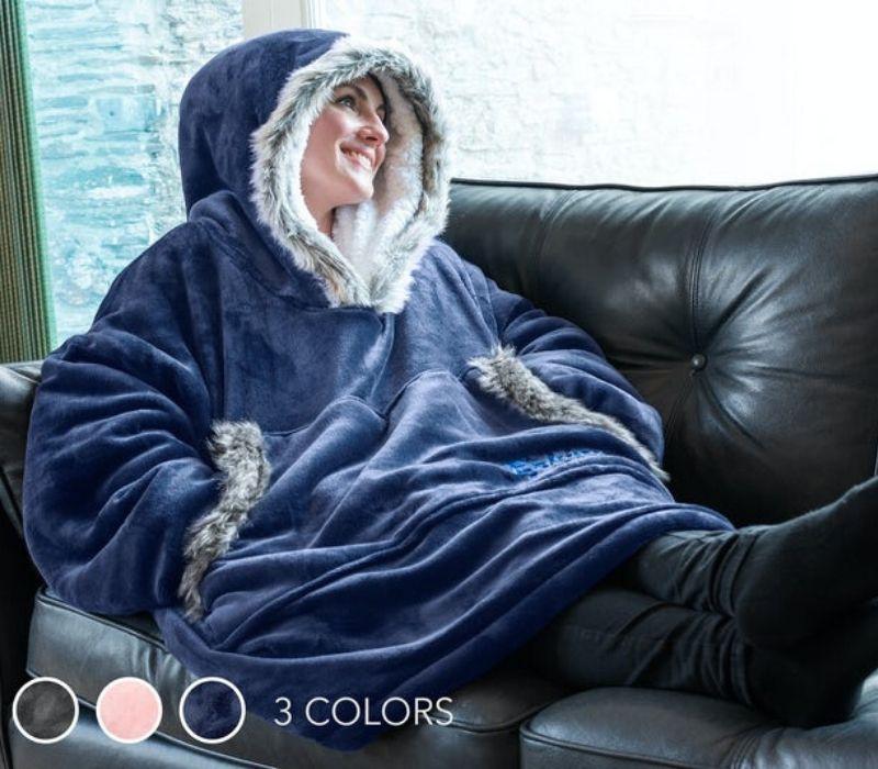 Snug rug hoodie hygge trøje