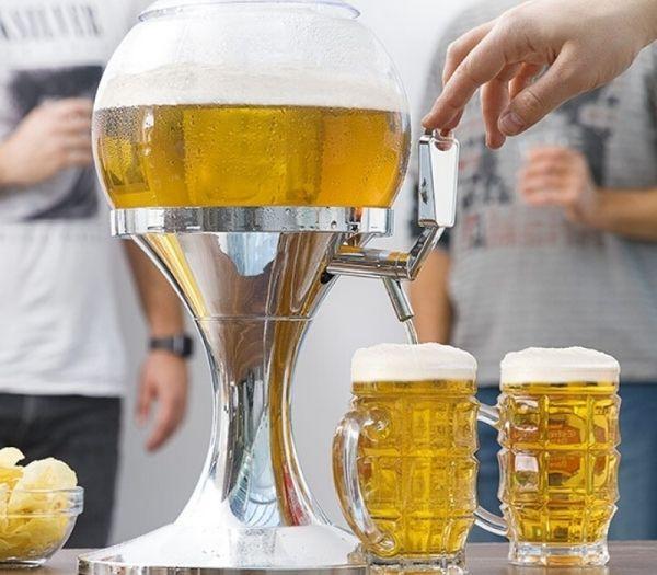 Ball øl køledispenser og fadølsanlæg som gaveide til far