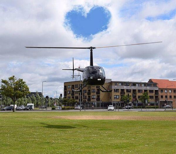 Flyv i helikopter over Danmark oplevelsesgavekort