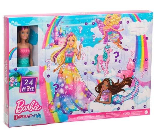Barbie fairytale julekalender til piger