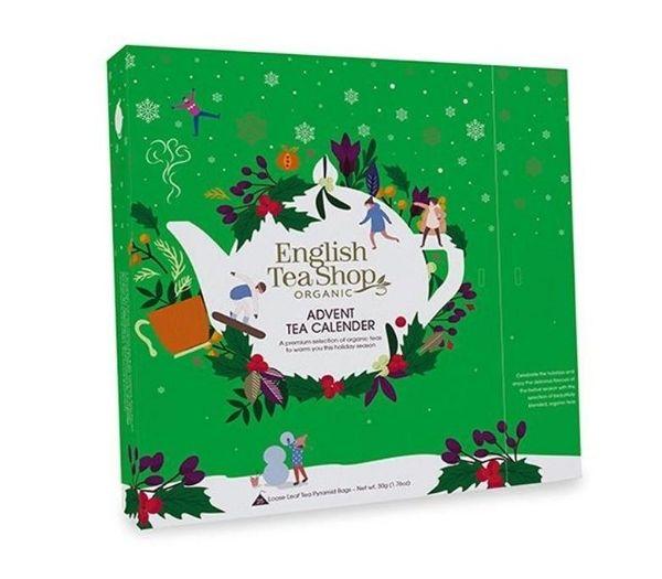English tea shop julekalender grøn