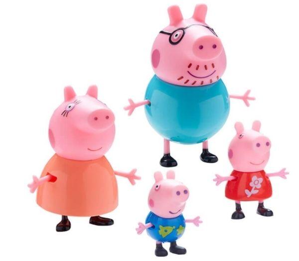Gurli gris figurer - familie