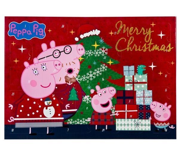 Gurli gris julekalendere til små børn