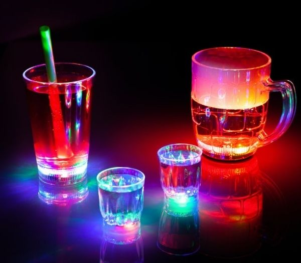 LED Party Glas