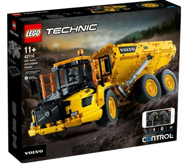 Lego Technic 6x6 Volvo Articulated Hauler
