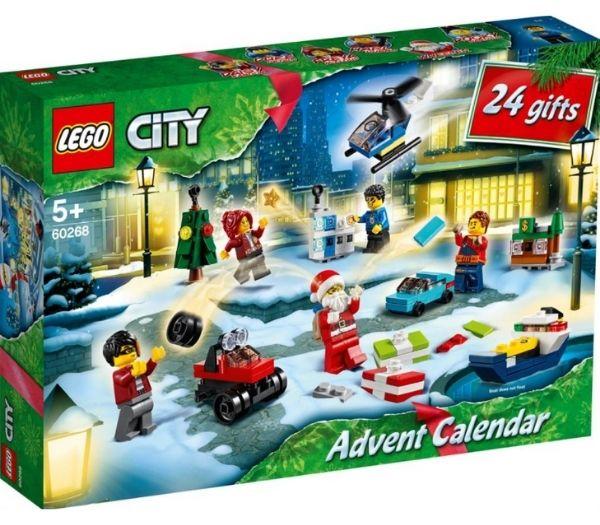 Lego city julekalendere til børn