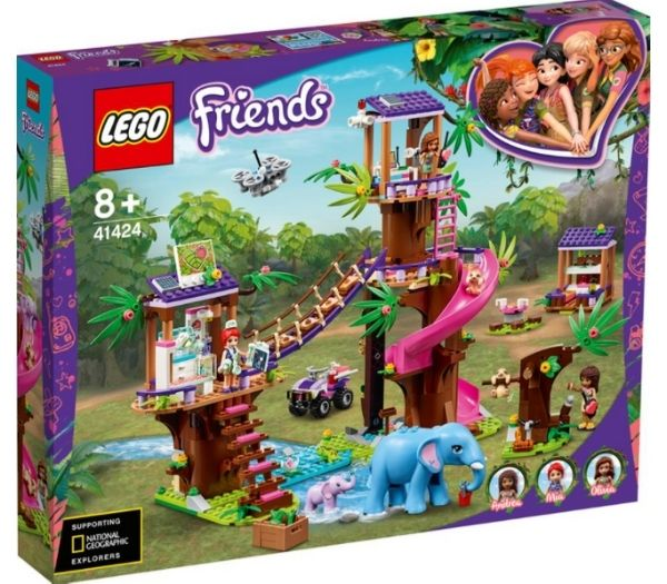 Lego friends redningsstation i junglen