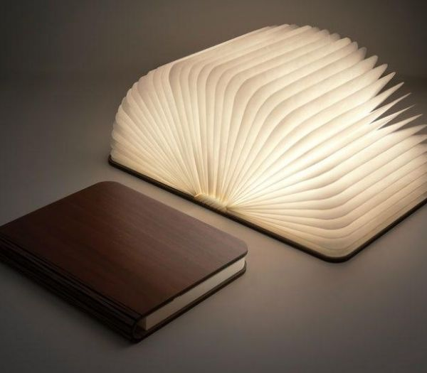 Mood Book Lamp inspiration til mandelgave