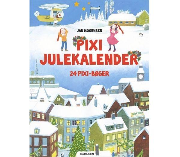 Pixi Julekalender med 24 pixi-bøger