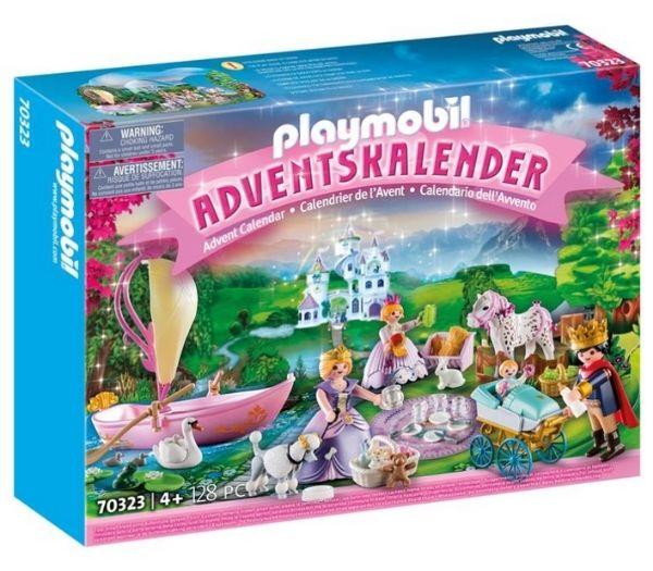 Playmobil julekalender kongelig picnic i parken
