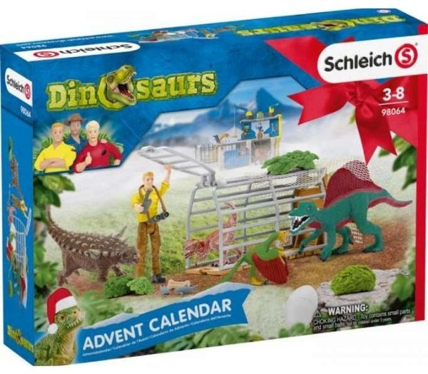 Schleich julekalender dinosaurer