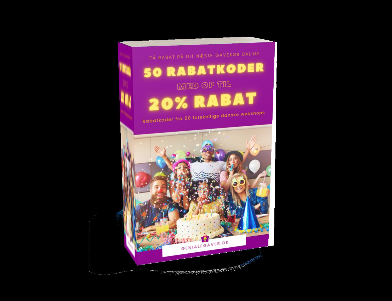 50 rabatkoder bog