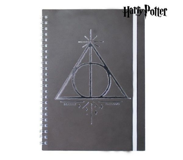 Harry Potter Notesbog Deathly Hallows