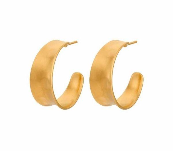 Saga guld øreringe fra Pernille Corydon