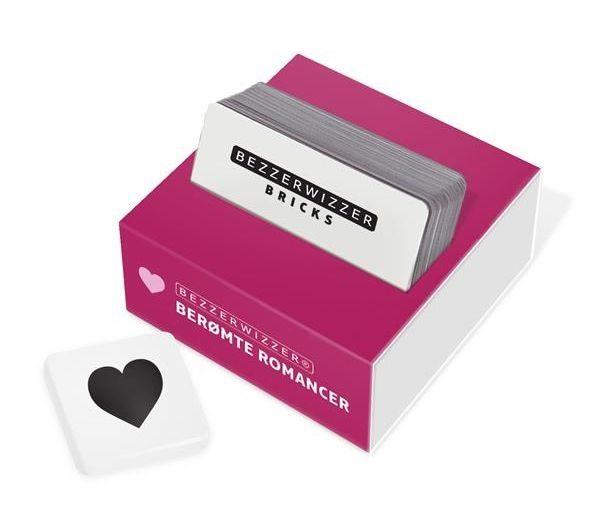 Bezzerwizzer Bricks, Berømte romancer gave til kæresten