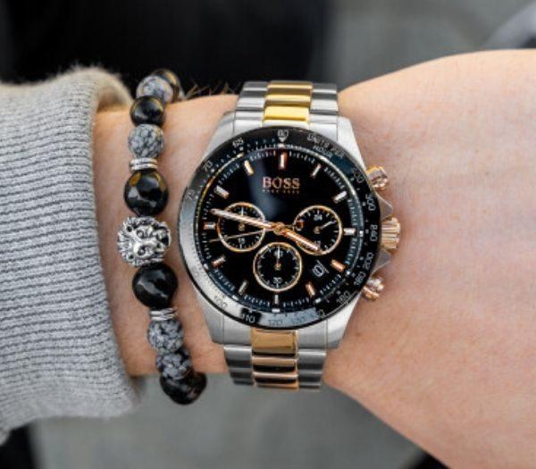 Gavesæt med ur og armbånd