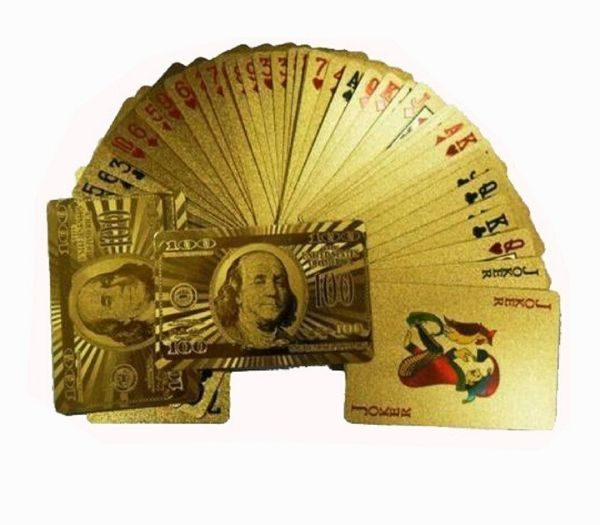 Guld spillekort gave til teenage drengen