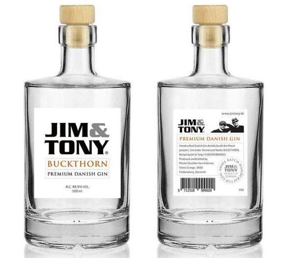 Jim & Tony Buckthorn Gin – Dansk Verdensklasse Gin