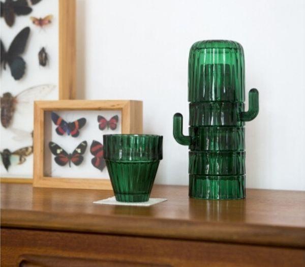 Kaktusglas til køkkenet
