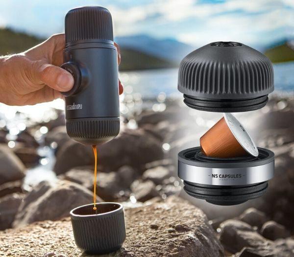 Nanopresso til kaffe på farten