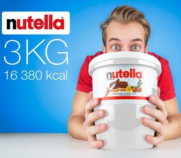 Nutella spand på 3kg gave til teenager drengen