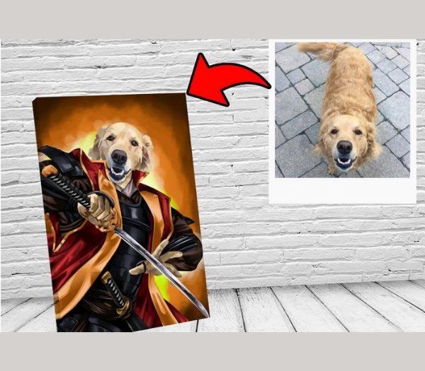 Personlig billede af din hund eller kæledyr