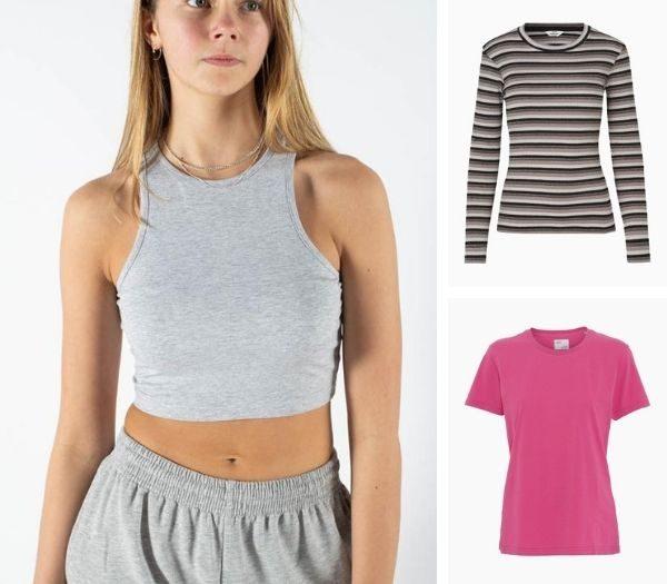 T-shirts og Toppe til teenagepiger