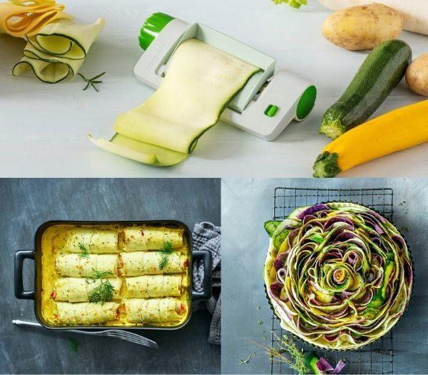 Veggie sheet slicer køkken gadgets